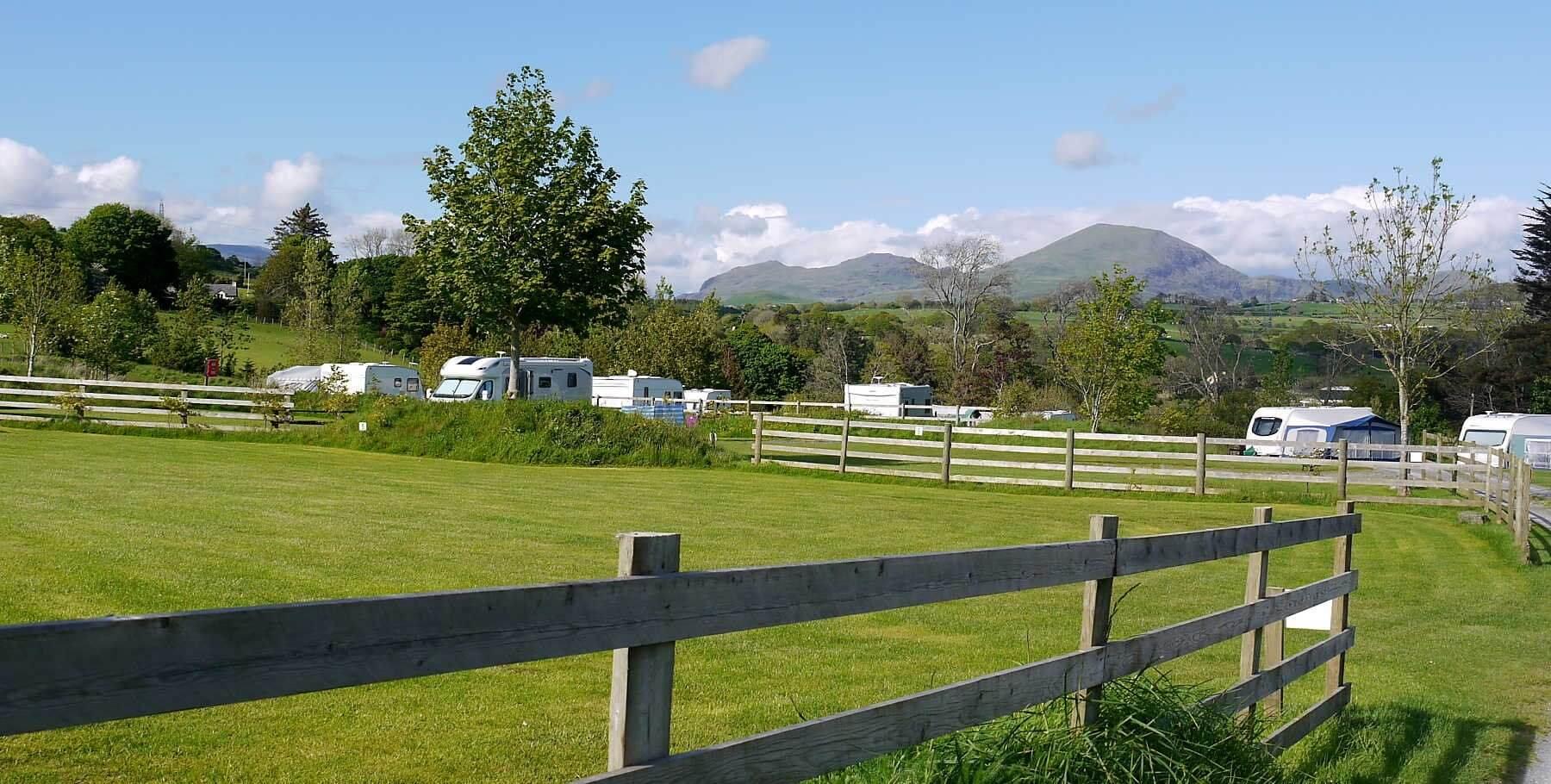 Eisteddfa Caravan And Camping Site, Criccieth , Gwynedd   Head Outside