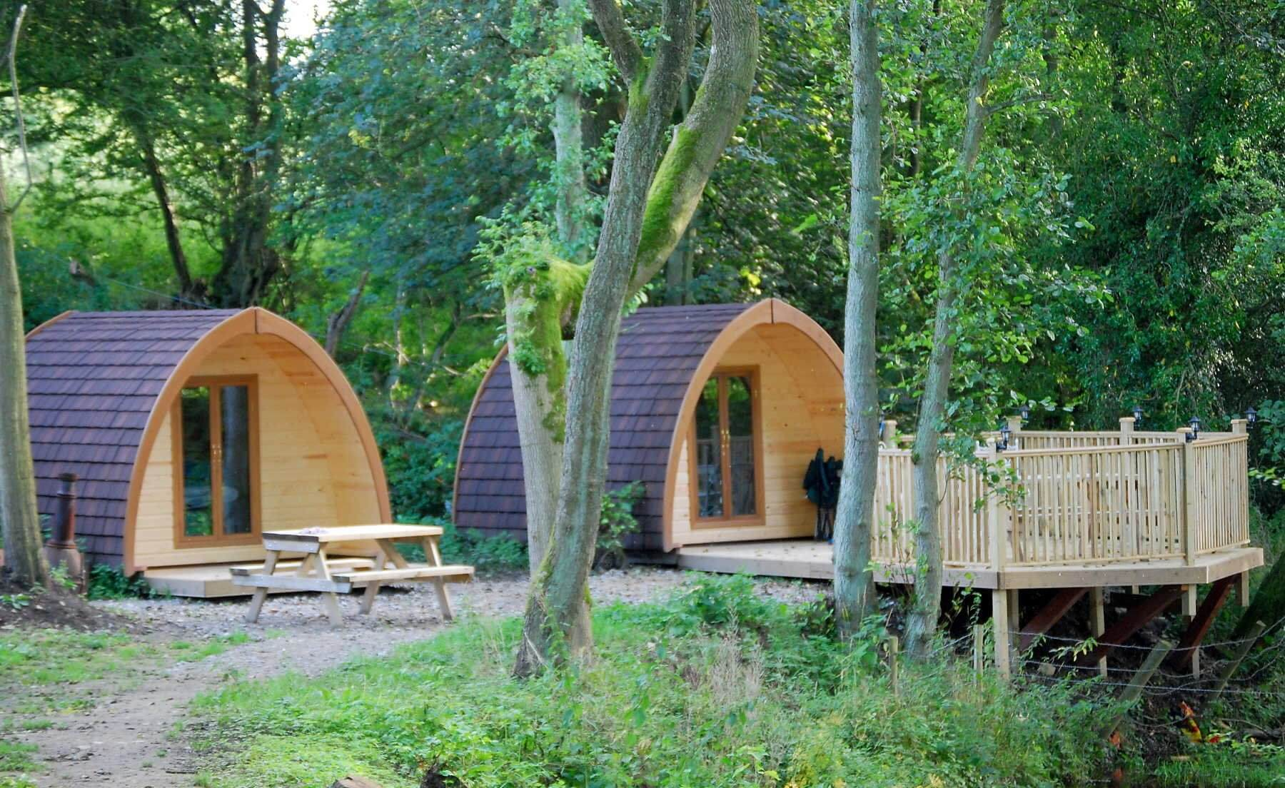 Bryn Dwr Camping Pods, Ruthin, Wrexham  | Head Outside