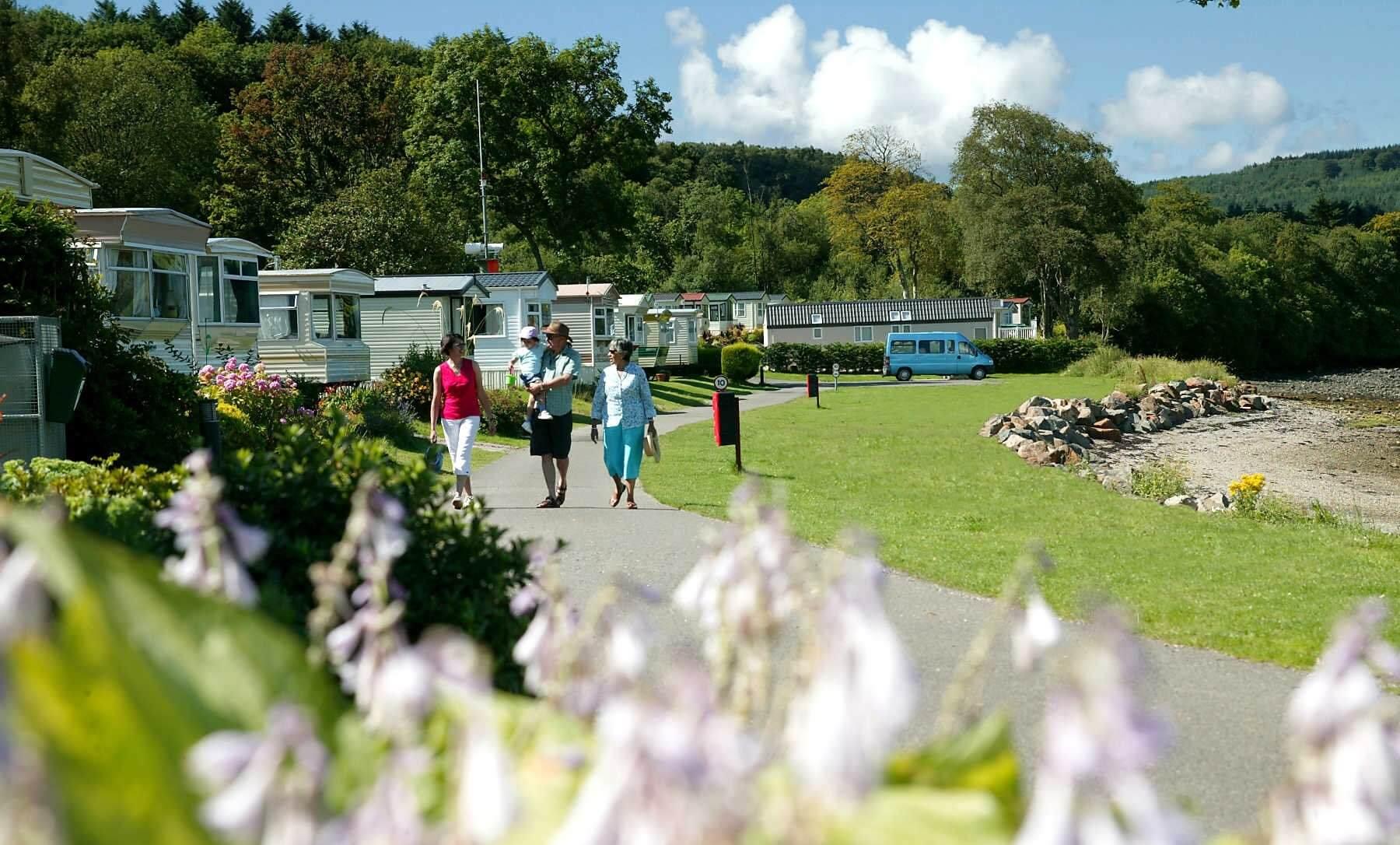 Rosneath Castle Caravan Park
