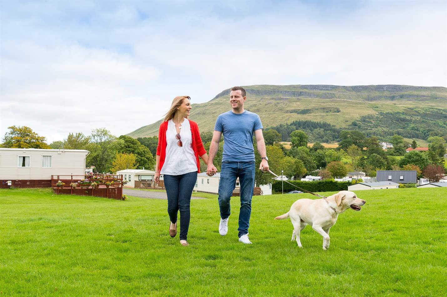 Campsie Glen Holiday Park, Fintry, Stirlingshire | Head Outside