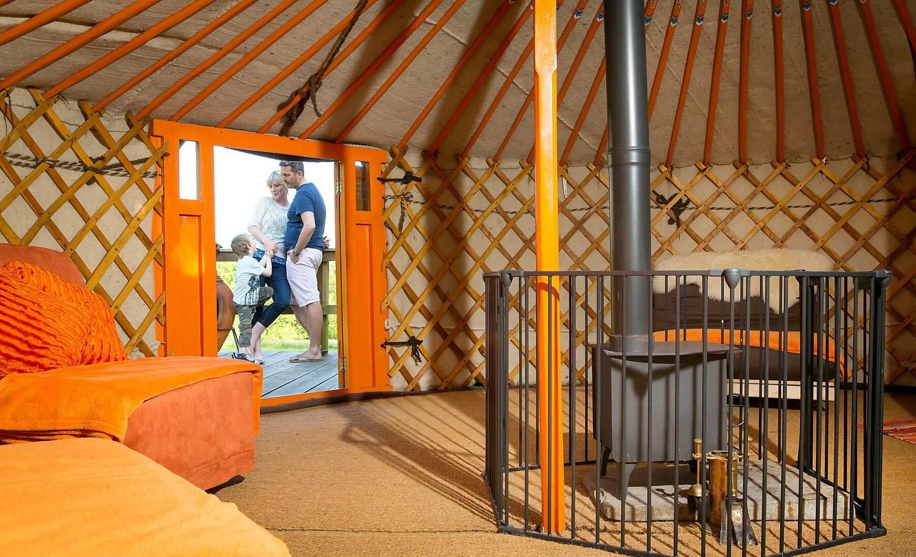 Cwm Tawel Yurts