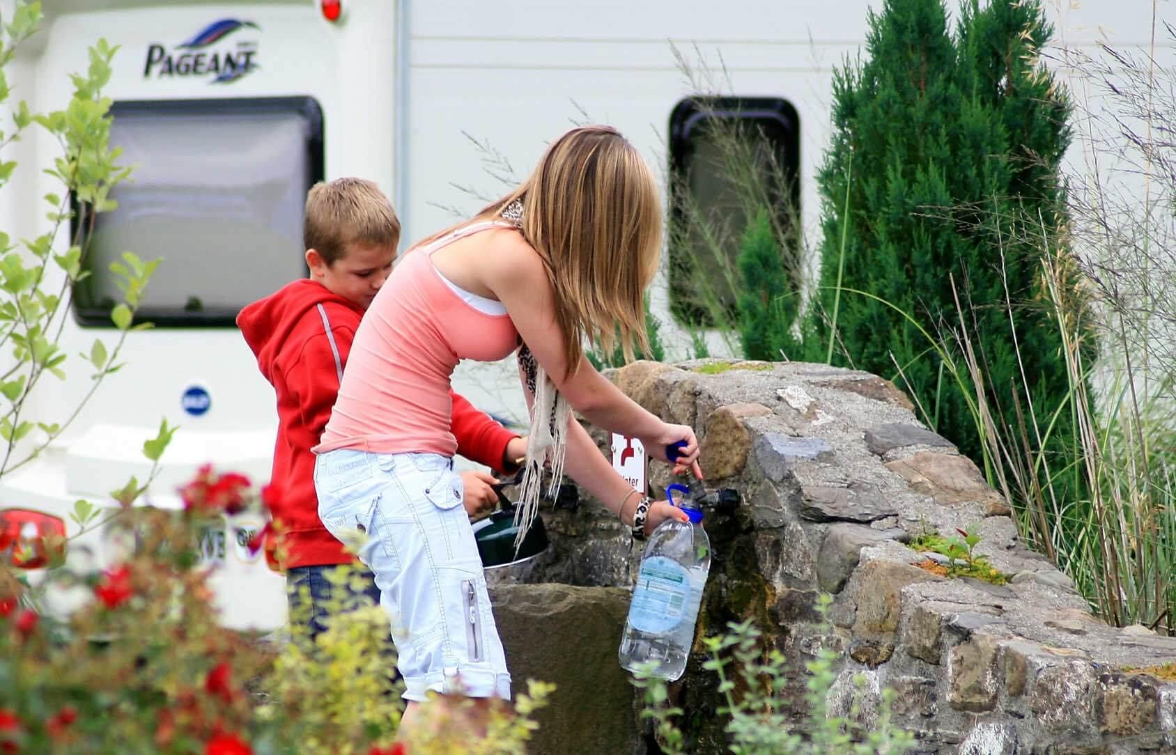Erwlon Caravan & Camping Park, Llandovery, Carmarthenshire | Head Outside