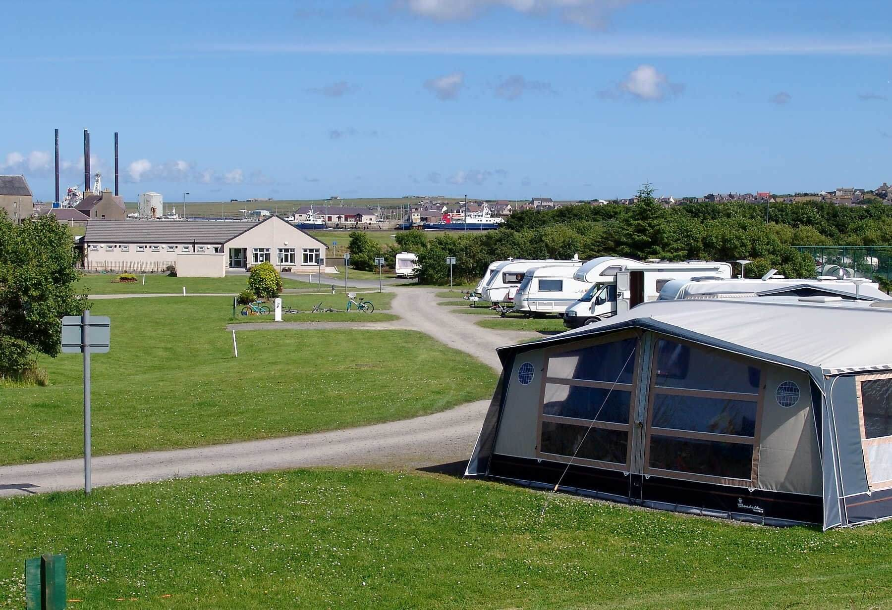 Pickaquoy Caravan And Camping Site