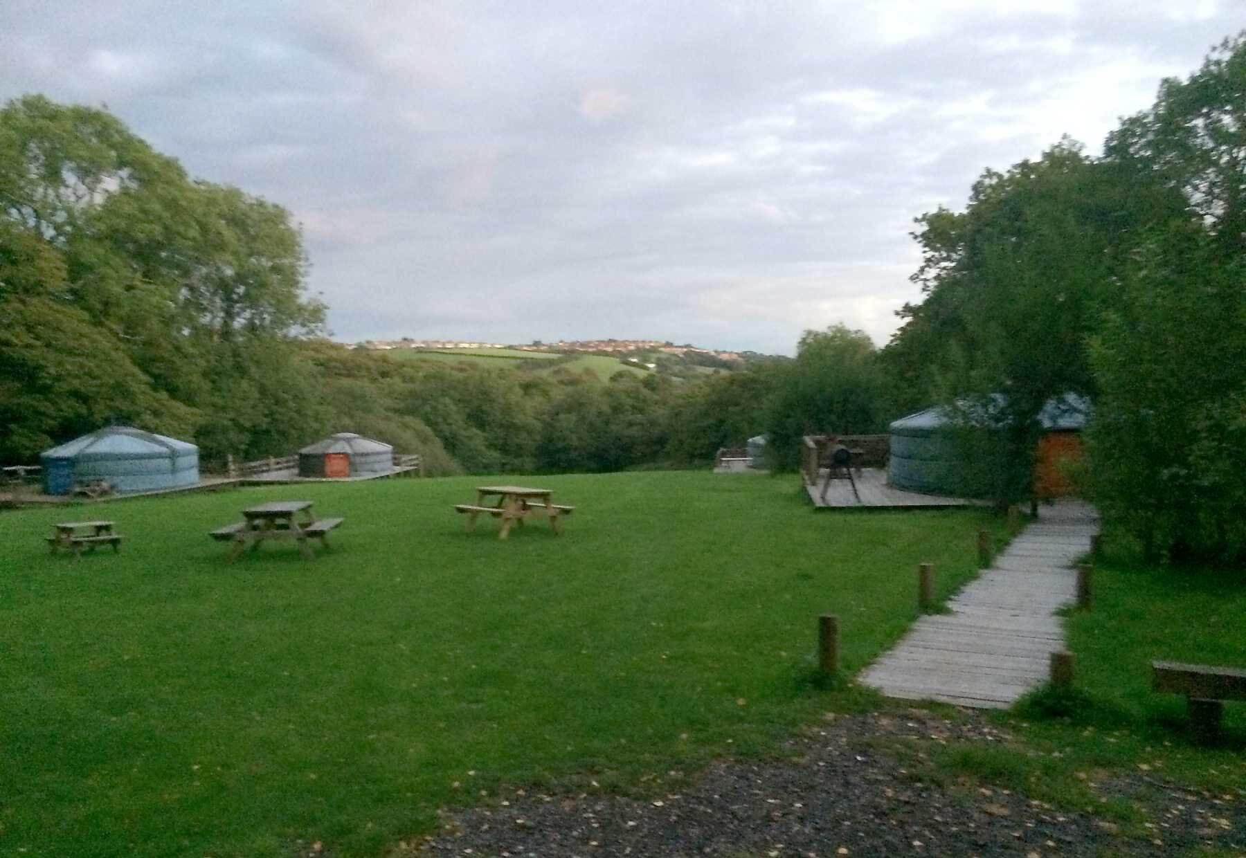 Cwm Tawel Yurts, Maesteg, Glamorgan  | Head Outside