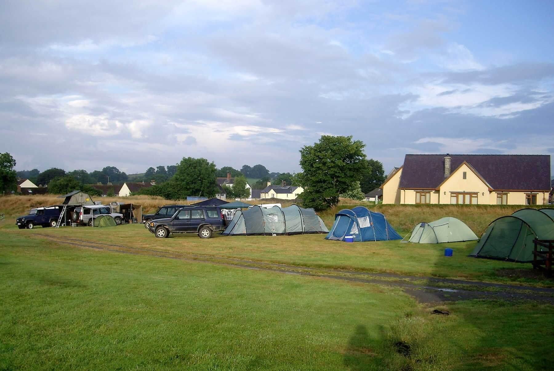 Nantyrhelyg Camping