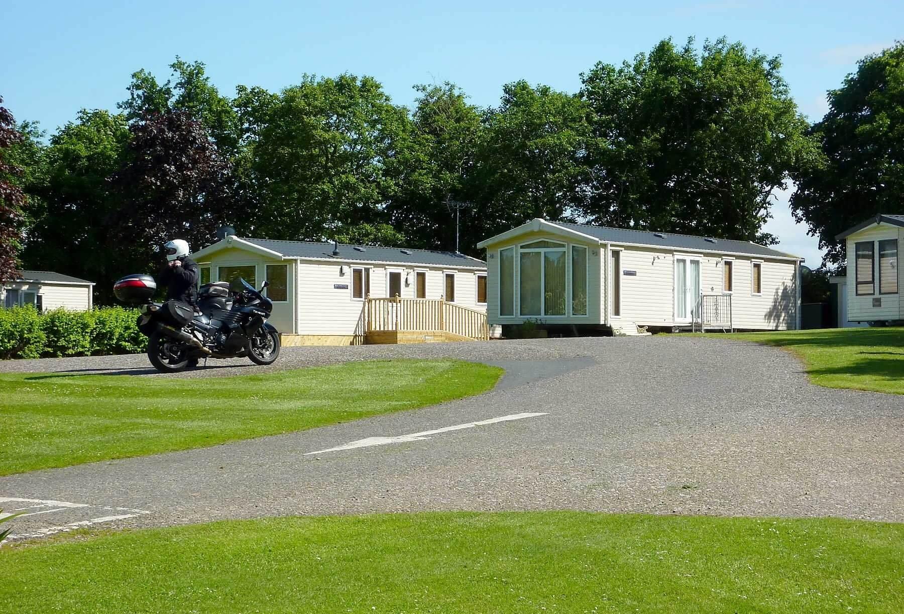 Aden Caravan Park, Mintlaw, Aberdeenshire  | Head Outside