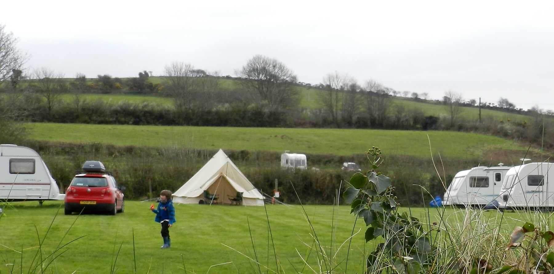 Dolbryn Caravan & Camping, Newcastle Emlyn, Carmarthenshire | Head Outside