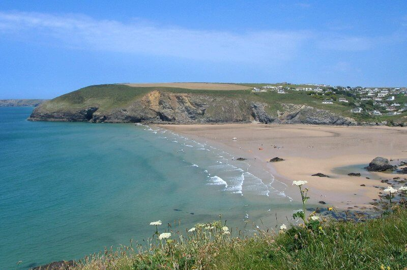 Sun Haven Valley Country Holiday Park, Mawgan Porth, East Cornwall   Head Outside