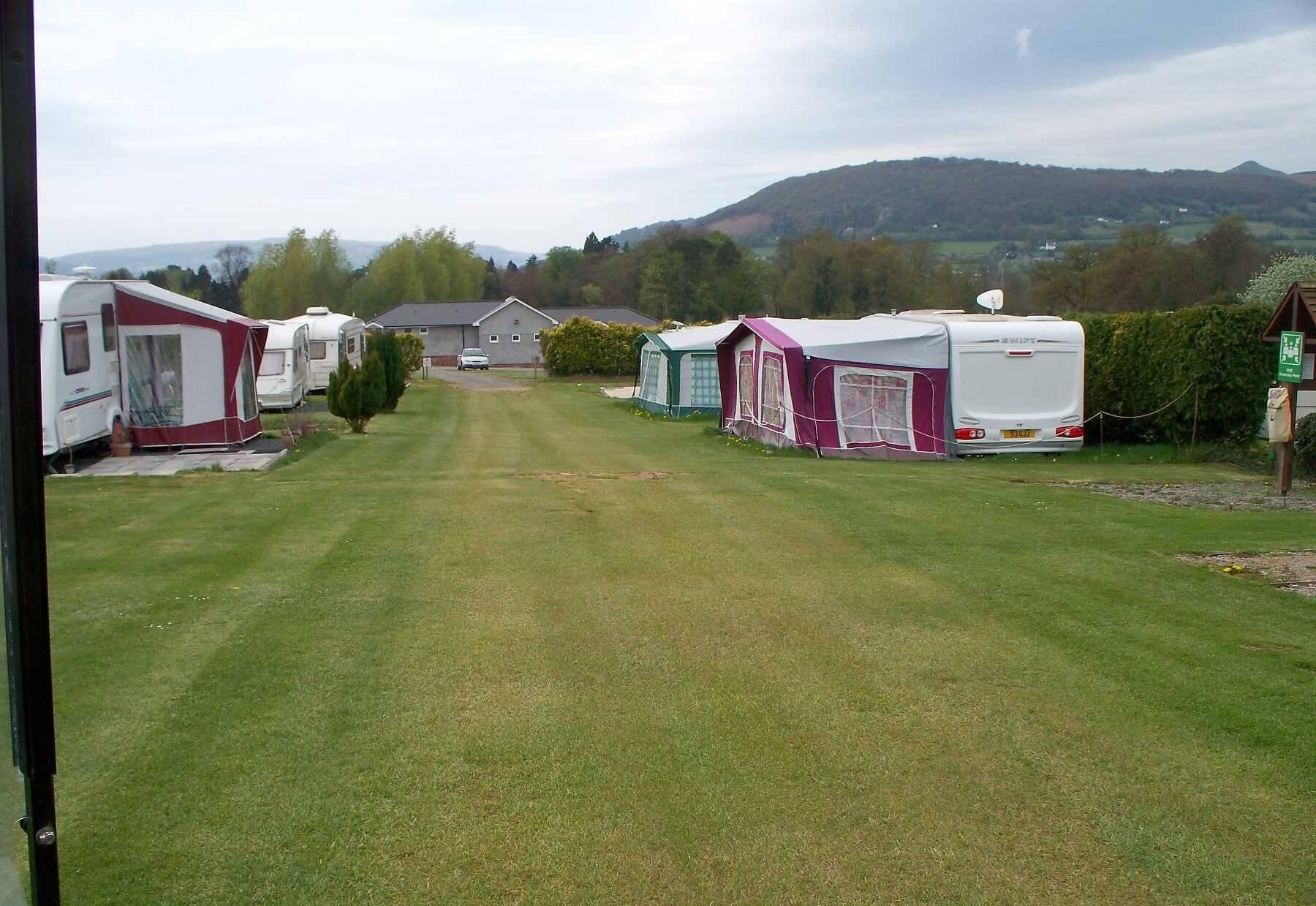 Wernddu Farm Caravan Park, Abergavenny, Monmouthshire | Head Outside