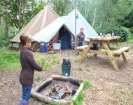Eco Camp at Beech Estate , Battle, East Sussex | Head Outside
