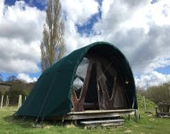 The Secret Campsite (Lewes), Barcombe, East Sussex | Head Outside