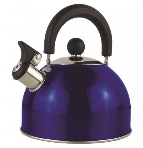 Yellowstone 2 Litre Metallic Whistling Kettle | CW022