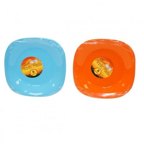 Boyz Toys Picnic Plate 4pk | RY688