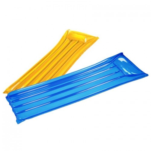 Boyz Toys Inflatable Lounger | Blue or Yellow
